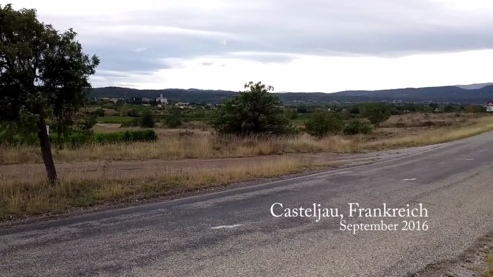Film über Südfrankreich Urlaub September 2016